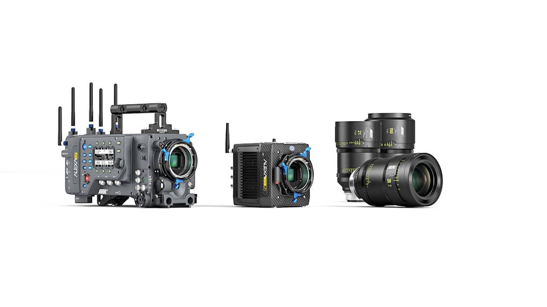 Nova ALEXA Mini LF amplia o sistema de câmeras de grande