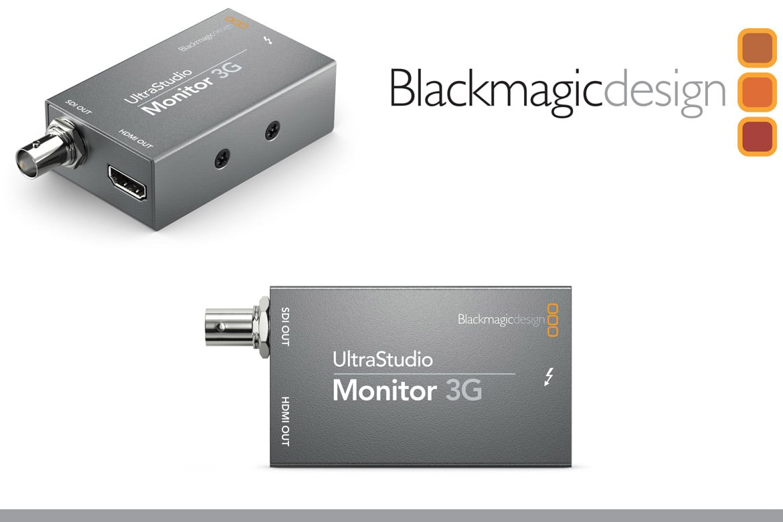 Blackmagic Design Anuncia Ultrastudio Monitor 3g E Ultrastudio Recorder 3g Panorama Audiovisual Brasil